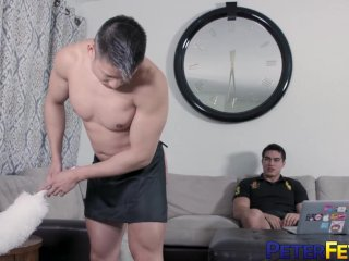 PETERFEVER Young Axel Kane Fucks His Asian Servant After BJ