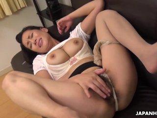 Japanese mature, Rei Kitajima wants orgasms, uncensored