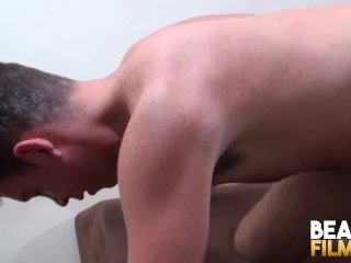 BEARFILMS Marc Angelo Meets Horny Bear For Juicy Blowjobs