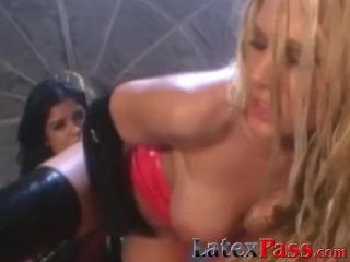 Gorgeous BDSM babe Alexis Amore hardcore whipping pussy play