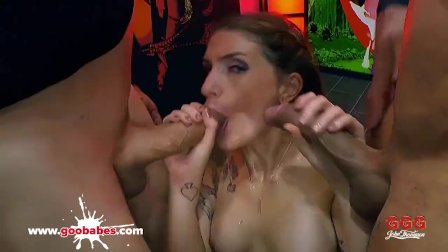 Adreena Winters in the Monster Cock Sea - German Goo Girls
