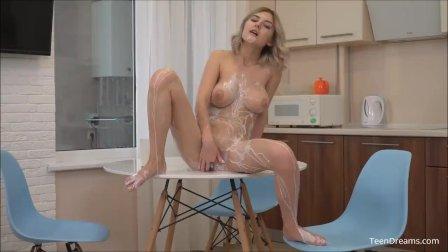 Lady Jay Got Milk Creamy Pussy