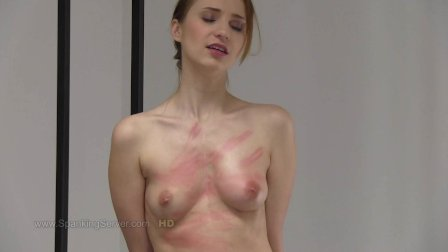 Chelsy s breast whipping.