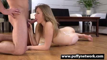 This Real Teen Swallows Cum!
