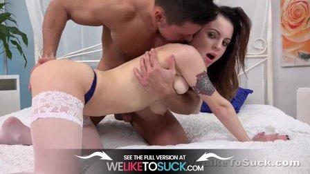 Hot Little Tramp Enjoys A Kinky Fuck