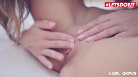 LETSDOEIT - Russian Katrin Tequila and Veronica Clark Lesbian Poolside Sex