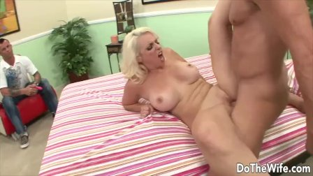 DoTheWife - Housewife Shamelessly Fucking in Front of Hubby Compilation 10