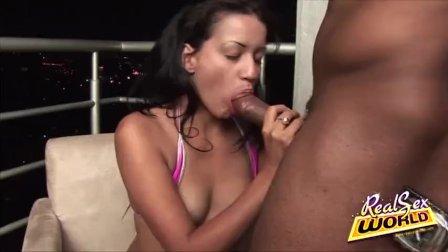 Latina Teen Jasmine Sandhize Gets Laid
